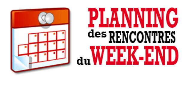 Agenda du week end
