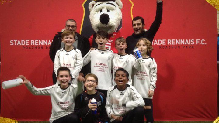 Les U10 vainqueurs de l'ERMINIG CUP !