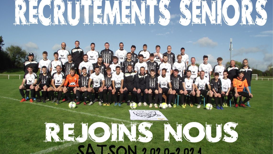 RECRUTEMENT SENIORS